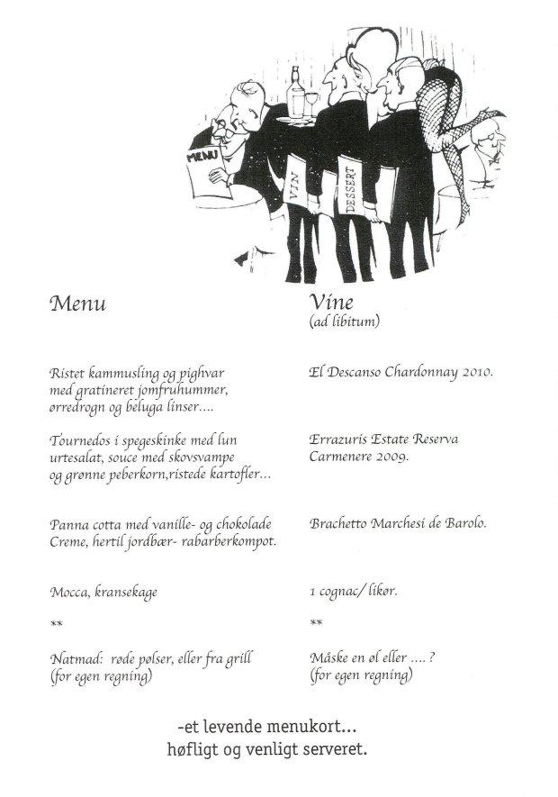 100 år menu
