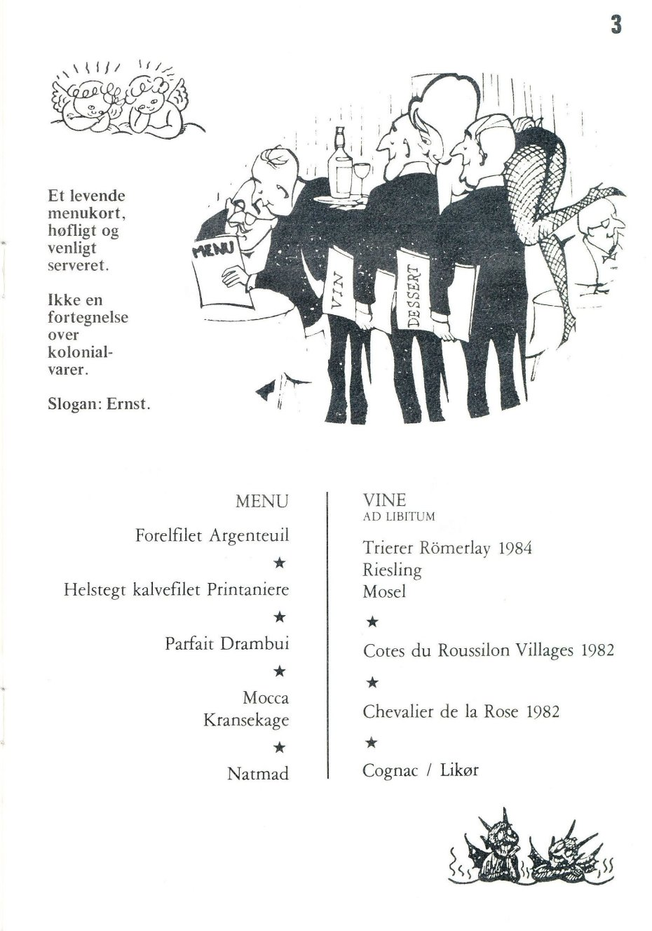 75 år menu