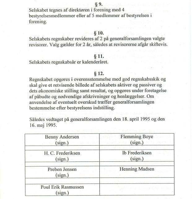 Selskabets vedtægter fra 1995 - A4-page-3