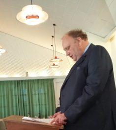 Formanden aflægger beretning